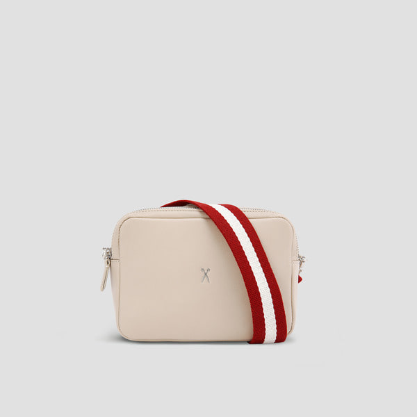 [정려원 착용] OZ Mini Square Bag Ecru Beige