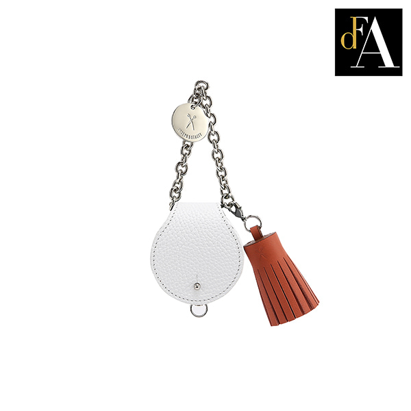 112 Tassel Whisper White(Sand Orange)