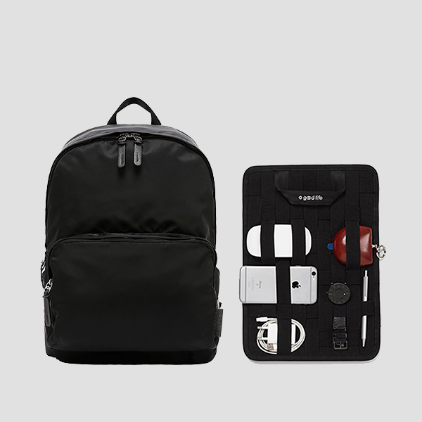 [유승호 착용] Ultra Backpack L Pocono Black(+Organizer)