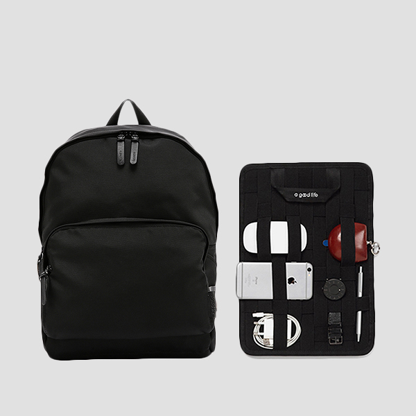 [유승호/차은우/김충재 착용] Ultra Backpack L Balistick Black(+Organizer)
