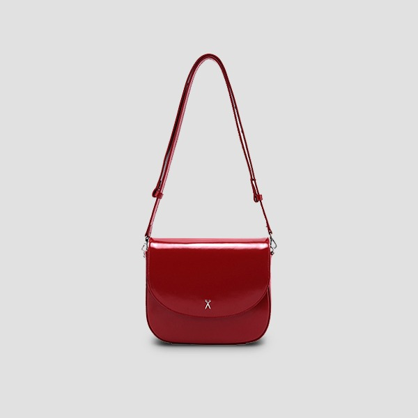 [EXID 하니/러블리즈 유지애 착용] Luna Disco Cross Bag Barbados Red