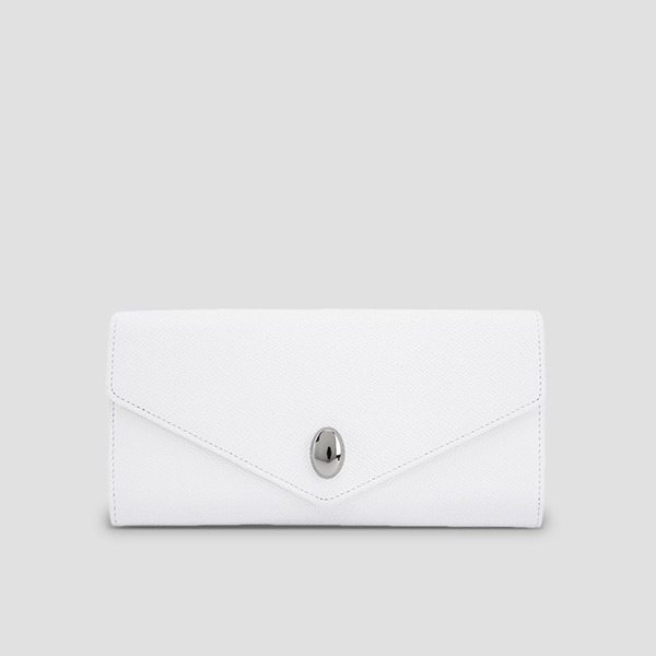 [박세완 착용] Easypass Koala Wallet Long Whisper White