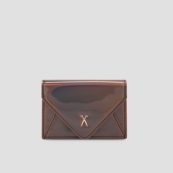 [재입고예정 3/29] Easypass Amante Card Wallet Mirror Brown