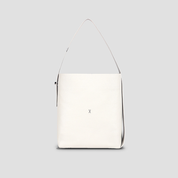 [박나래/아이즈원 안유진 착용] Joseph Shopper L Mirror Mix Whisper White(Silver)(+Pouch)