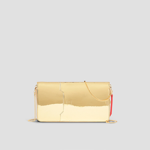 Thomas Organizer Clutch Mirror Gold
