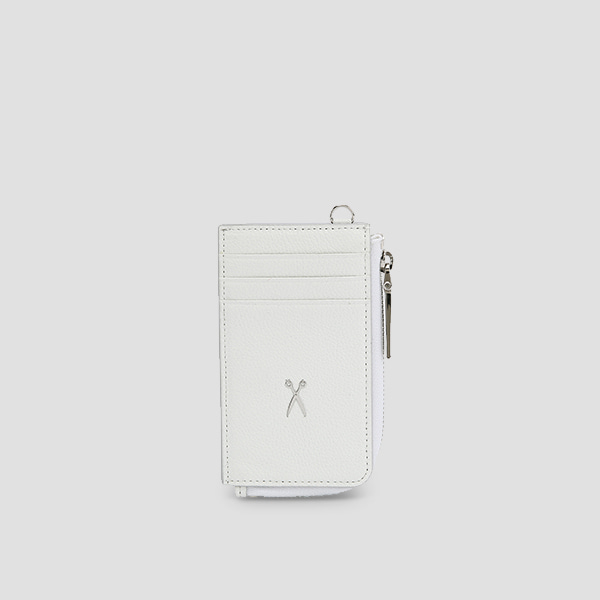 Easypass OZ Vertical Card Wallet Off White