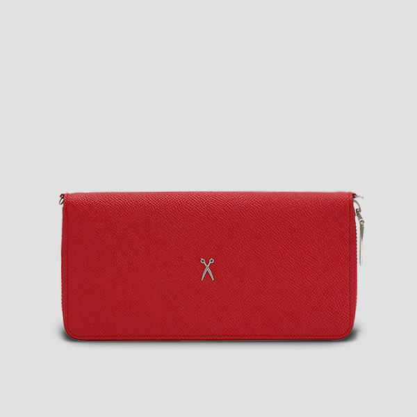 Easypass OZ 2-Way Wallet Pouch Barbados Red